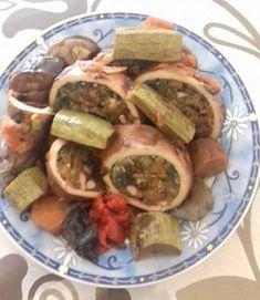 Καλαμαράκια γεμιστά με λαχανικά – Dukan's Girls Dukan Diet, Sausage, Beef, Food, Meat, Sausages, Essen, Meals, Yemek