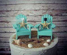 Adirondack beach wedding chairsAdirondack by MorganTheCreator