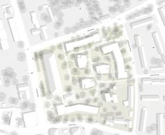 Section Drawing Architecture, Architecture Mapping, Landscape Architecture Drawing, Architecture Collage, Architecture Graphics, Architecture Plan, Green Roof Benefits, Masterplan, Planer Layout