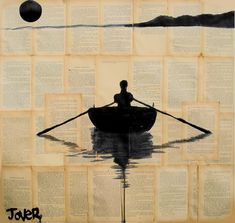 "Saatchi Online Artist: Loui Jover; Pen and Ink, 2013, Drawing ""a simpler plan """