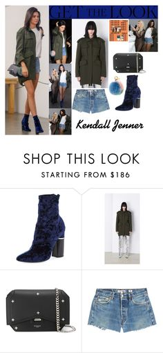 """""""Kendall Jenner With Kim Kardashian Kanye Wets Famous Art Exhibition August 26 2016"""" by valenlss ❤ liked on Polyvore featuring 3.1 Phillip Lim, Balenciaga, Givenchy, RE/DONE and Fendi"""