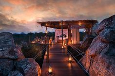 Luxurious Treehouse Resorts - The Lion Sands Game Reserve Provides Travellers With Luxury Rooms (GALLERY)