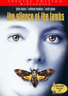 The Silence Of The Lambs movie dvd cover