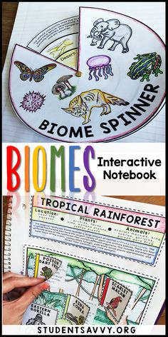Interactive Notebook Biomes Interactive Science Notebook - My students love the interactive activities and foldables!Biomes Interactive Science Notebook - My students love the interactive activities and foldables! Interactive Activities, Science Resources, Science Lessons, Science Education, Teaching Science, Science Activities, Life Science, Physical Science, Science Experiments