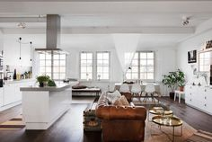 Delicious Stockholm apartment in an old chocolate factory