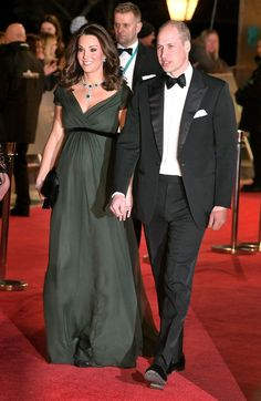 The BAFTA Awards are quickly becoming an annual date night for Prince William and Kate Middleton. William became president of the academy in and as well Bafta Red Carpet, Celebrity Red Carpet, Celebrity Dresses, Celebrity Couples, Celebrity Maternity, Duchess Kate, Duke And Duchess, Duchess Of Cambridge, Catherine Cambridge