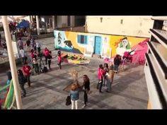 Isletarte Curcuma - YouTube. Magnífico  vídeo de Street Art en La Isleta de Las Palmas GC