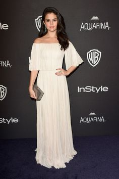 """selgomez-news: """" January 10: Selena attending the 2016 InStyle And Warner Bros. 73rd Annual Golden Globe Awards Post-Party in Beverly Hills, California [HQs] """""""