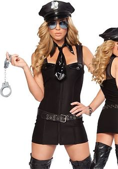 Above The Law Sexy Police Costume Sexy Copper Costume Cops Costume Army Girl Costumes, Police Halloween Costumes, Cop Costume, Costume Sexy, Military Costumes, Cosplay Costumes, Rave Costumes, Adult Costumes, Police Fancy Dress