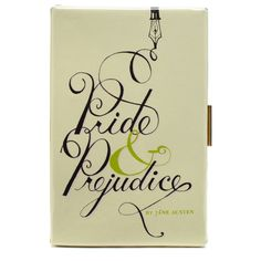 Book clutch from Kate Spade - they've finally released Pride & Prejudice!