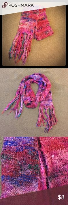 Selling this Multicolored woven scarf on Poshmark! My username is: ladyejane77. #shopmycloset #poshmark #fashion #shopping #style #forsale #Accessories