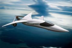 Supersonic Private Jet. #AdeaEveryday