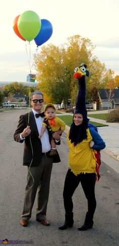 This homemade costume for families entered our 2012 Halloween Costume Contest, and won 4th place in the Favorite Halloween Costume nomination!