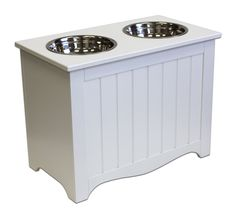 APetProject Large Pet Food Server U0026 Storage Box (Winter White) *LIMIT 1 PER