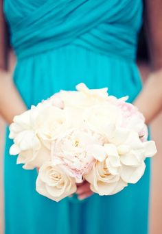 So torn between all white and adding some color for the bouquets