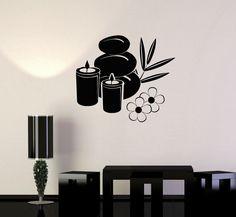 Cheap Wall Stickers, Wall Stickers Murals, Vinyl Wall Decals, Vinyl Art, Massage Room Decor, Stick Wall Art, Basalt Stone, Wall Decor Design, Bedroom Murals