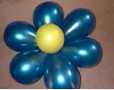 balloon flower for party decorations