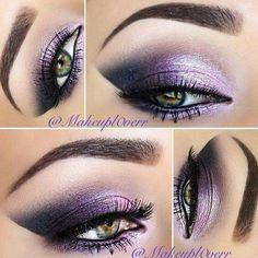 Absolutely beautiful shimmery purple