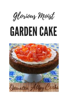 Garden Cakes, Downton Abbey, Eat Cake, Vegetables, Simple, Breakfast, Board, Recipes, Vegetable Recipes
