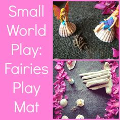 Playful Learners: Small World Play: Fairies Nature Mat Preschool Themes, Kids Learning Activities, Summer Activities, Art For Kids, Crafts For Kids, Small World Play, Fun Worksheets, Summer Birthday, Little Monkeys