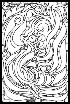 Free Coloring Pages Firebird