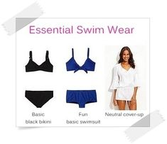 Essential Swimwear - Your Wardrobe Essentials