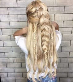 Braided hairstyle ideas for long hair,hairstyle ideas for long hair,Boho hairstyles,Chic Hairstyle inspiration,Prom hairstyles,Easy and Chic Hairstyles for Long Hair