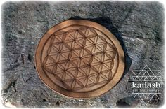 Leather Crystal Grid_Flower of Life_Sacred Geometry