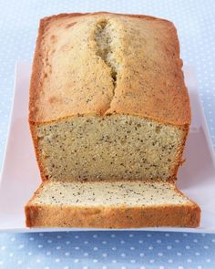 Almond Poppy-Seed Loaf Cake - Martha Stewart Recipes