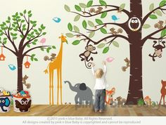 Kid's Playroom 3 Wall Decal  All Kids love this Wall