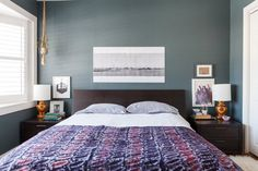 Perfect Placement: 12 Bedrooms That Nailed Hanging Art Above the Bed — Rooms That Get It Right