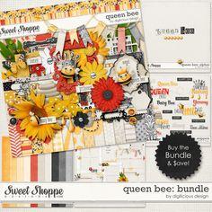 Queen Bee Bundle by Digilicious Design