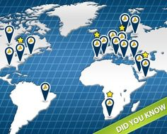 Lyoness Global Shopping Map  And many more new places daily :)