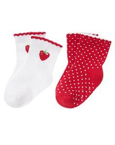 Strawberry socks!