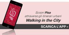 Info app gratuita - Ufficiale Turismo - Pisa attraverso gli itinerari urbani di Walking in the City