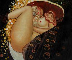 Danae by: Gustav Klimt