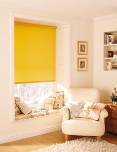 Geltona spalva namų interjere   Domus Lumina