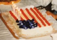 USA kakku 6 vuotispäivänä 1992