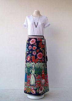 Frida Skirt Luci Lú by twyggi. Explore more products on http://twyggi.etsy.com