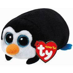 Ty Teeny knuffel pinguïn Pockets - 10 cm - 1