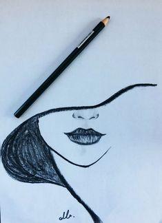 Drawing, 2019 dibujar arte, dibujos a lápiz ve cosas de dibujo. Easy Pencil Drawings, Cool Art Drawings, Drawing Sketches, Drawing Ideas, Drawing Tips, Drawing Techniques, Pencil Drawing Inspiration, Easy Doodles Drawings, Pencil Sketching