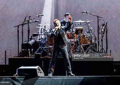 VANCOUVER, BC - MAY 12: (L-R) Bono and Larry Mullen Jr. of rock band U2 perform on stage during their 'The Joshua Tree World Tour' opener at BC Place on May 12, 2017 in Vancouver, Canada. (Photo by Andrew Chin/Getty Images) @u2 @gettyimages @gettyentertainment #gettyimages #GettyEntertainment #vancouver #vancity #vancouverbc #uk #irish #u2thejoshuatree2017 #u2 #celeb #celebrity #celebrities #usa #losangeles #newyork #nyc #la #rock #concert #livemusic #singer #bcplace @bcplacestadium #canada…