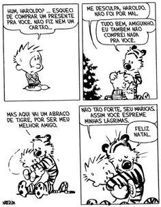 FELIZ NATAL - Calvin and Hobbes