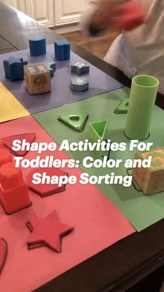 Preschool Fun Activities, Toddler Home Activities, Preschool Jobs, Color Activities For Toddlers, Creative Activities For Kids, Preschool Learning, Infant Activities, Preschool Activities, Teaching