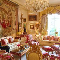 Pink and Gold Grande Salon