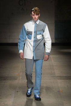 (vía Christopher Shannon Fall-Winter 2017 - London Fashion Week Men's)