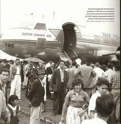 Real Aerovias Convair CV-340-62 PP-YRE at LDB 1956