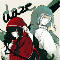 Azami & Tsukhiko (daze) | Kagerou Project