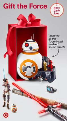 Send Star Wars fans over the moon with gifts like the BB-8 Forced Link Adventure Set & more.