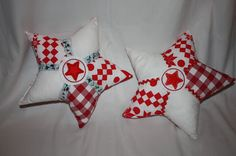Star pillow von regenbogenbuntes made 2011 by JoLou